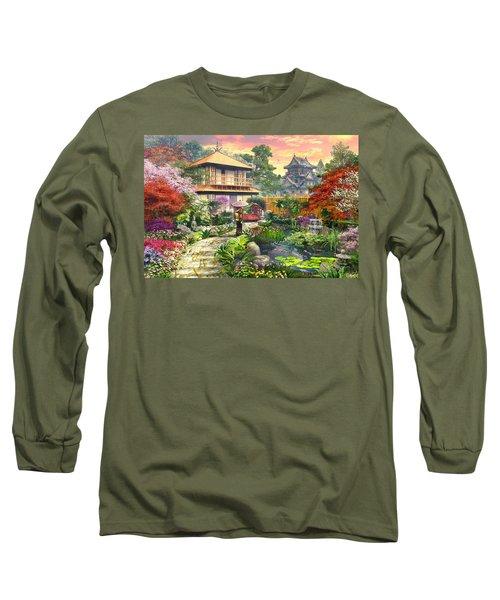 Japan Garden Variant 2 Long Sleeve T-Shirt