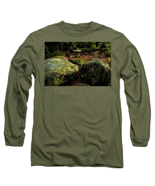 Japanese Garden Lantern Long Sleeve T-Shirt
