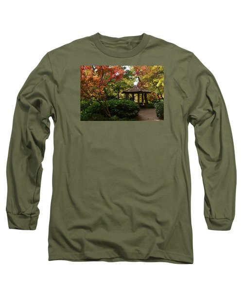 Japanese Gardens 2577 Long Sleeve T-Shirt by Ricardo J Ruiz de Porras