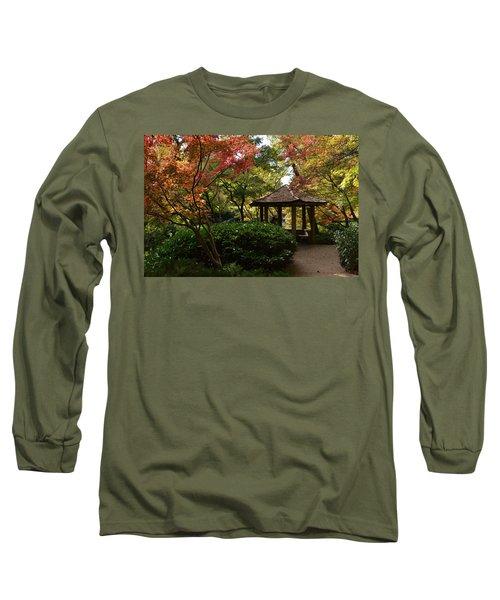 Japanese Gardens 2577 Long Sleeve T-Shirt