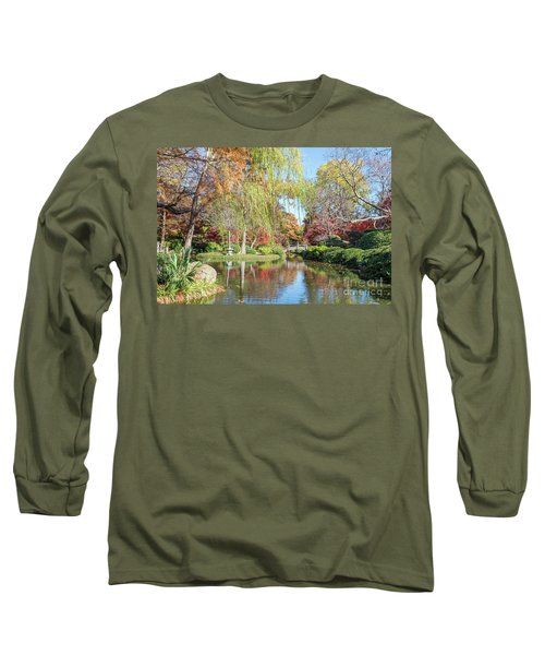 Japanese Gardens Long Sleeve T-Shirt