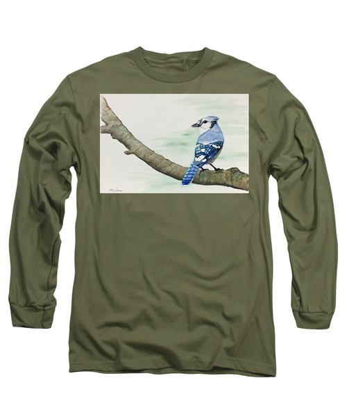 Jay In The Pine Long Sleeve T-Shirt