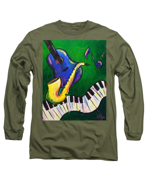 Jazz Time Long Sleeve T-Shirt