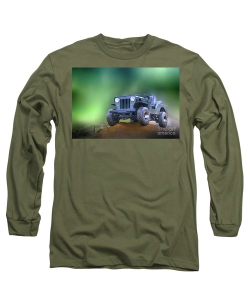 Long Sleeve T-Shirt featuring the photograph Jeep by Charuhas Images