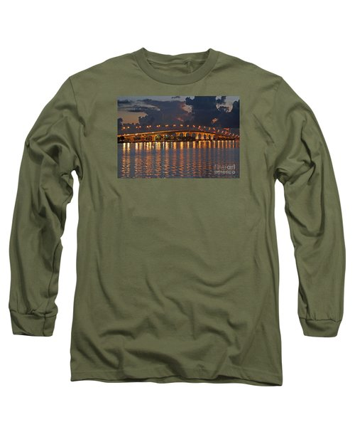Jensen Beach Causeway Long Sleeve T-Shirt by Tom Claud