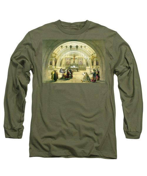 Jerusalem Calvery Long Sleeve T-Shirt
