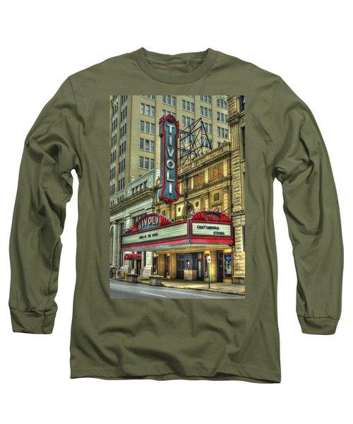 Jewel Of The South Tivoli Chattanooga Historic Theater Art Long Sleeve T-Shirt