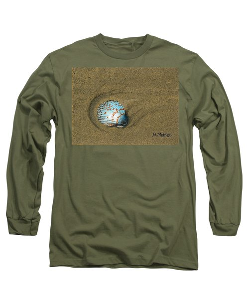 Jewel On The Beach Long Sleeve T-Shirt by Mike Robles