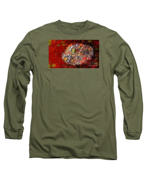 Jewels And The Japanese Maple Long Sleeve T-Shirt