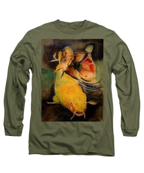 Jewels Of Lakes. Long Sleeve T-Shirt by Khalid Saeed