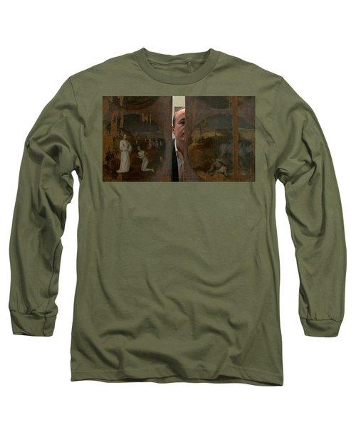 Jheronimus Bosch, Geraakt Door De Duivel Long Sleeve T-Shirt