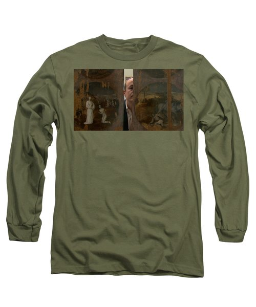 Jheronimus Bosch, Geraakt Door De Duivel Long Sleeve T-Shirt