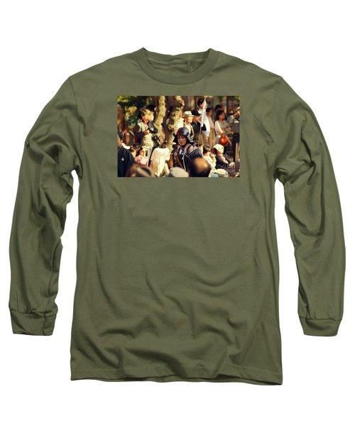 Long Sleeve T-Shirt featuring the photograph Jidai Matsuri Xiii by Cassandra Buckley