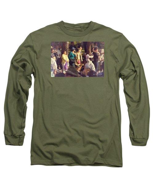 Long Sleeve T-Shirt featuring the photograph Jidai Matsuri Xiv by Cassandra Buckley