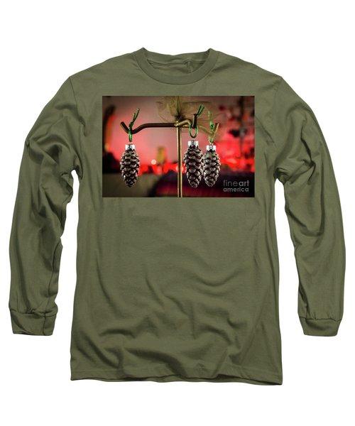Jingle Pinecones Long Sleeve T-Shirt
