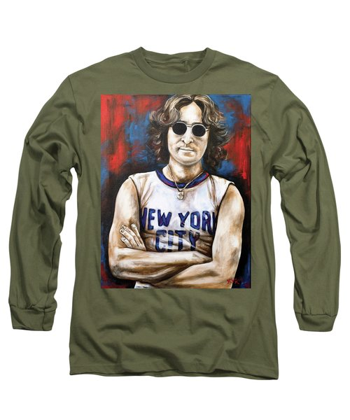 John Lennon Long Sleeve T-Shirt