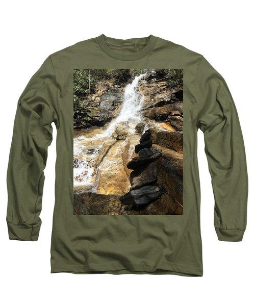 Jones Gap Falls  Long Sleeve T-Shirt