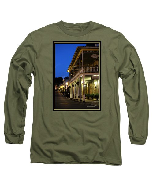 Long Sleeve T-Shirt featuring the painting Jonesborough Tennessee 12 by Steven Lebron Langston