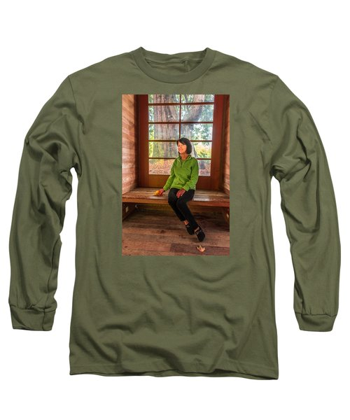 Josie Long Sleeve T-Shirt by Jerry Cahill
