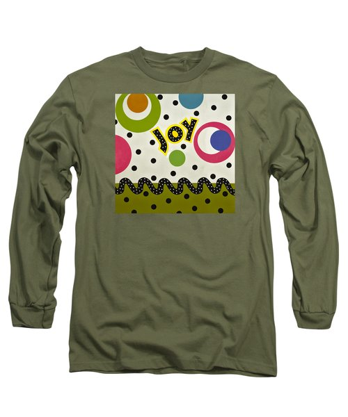Joy Long Sleeve T-Shirt by Gloria Rothrock