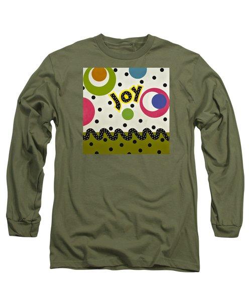Long Sleeve T-Shirt featuring the mixed media Joy by Gloria Rothrock