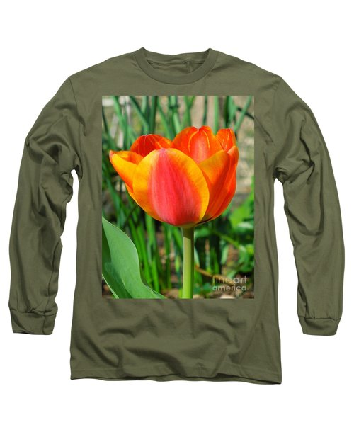 Joyful Tulip Long Sleeve T-Shirt