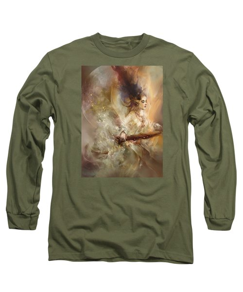 Joyment Long Sleeve T-Shirt by Te Hu