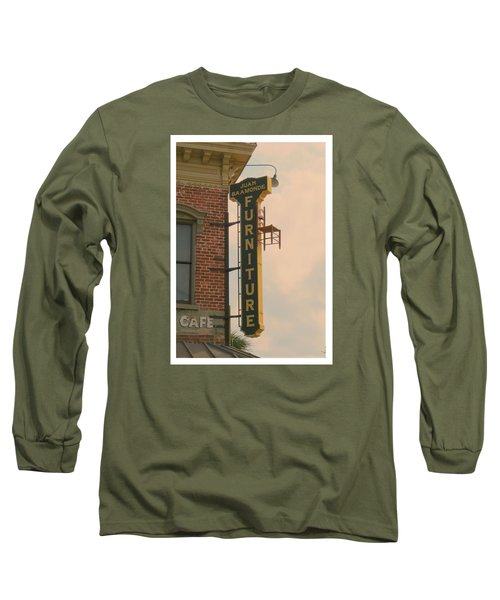 Juan's Furniture Store Long Sleeve T-Shirt by Robert Youmans