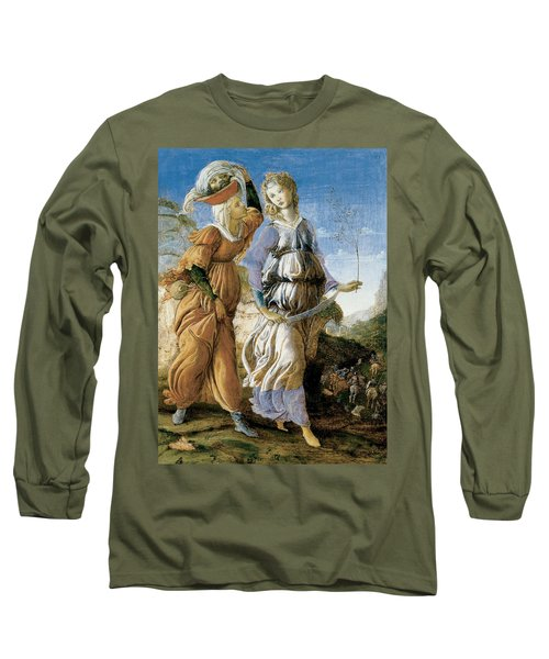 Judith With The Head Of Holofernes Long Sleeve T-Shirt