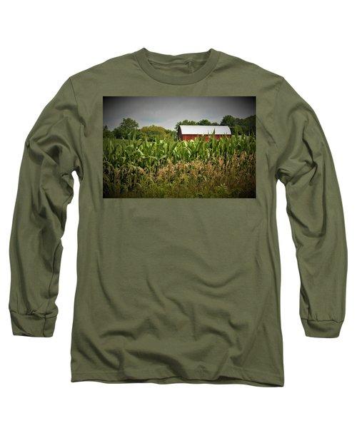 0020 - July Corn Long Sleeve T-Shirt