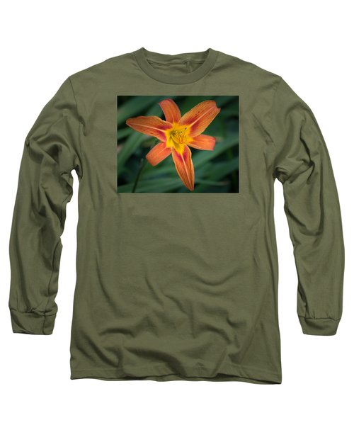 July Tiger Lily Long Sleeve T-Shirt