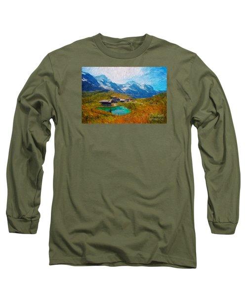 Jungfrau And Pond Long Sleeve T-Shirt