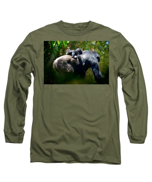 Jungle Baby Hitch Hiker Long Sleeve T-Shirt