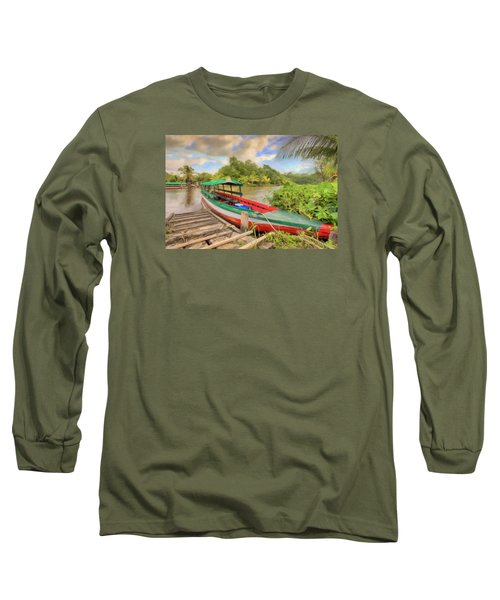 Jungle Boat Long Sleeve T-Shirt