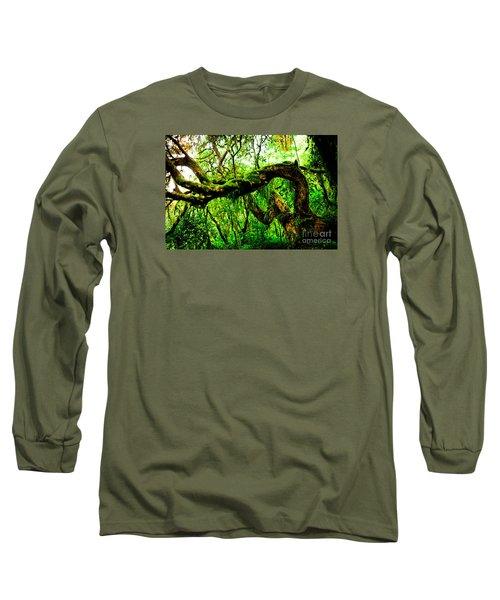 Jungle Forest Himalayas Mountain Nepal Long Sleeve T-Shirt