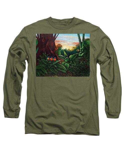 Jungle Harmony 3 Long Sleeve T-Shirt