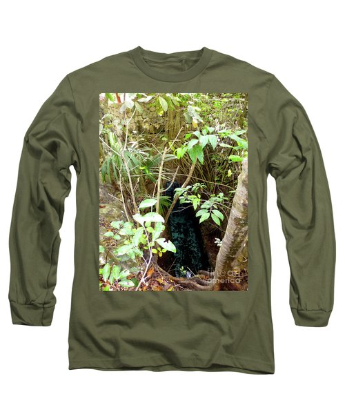 Long Sleeve T-Shirt featuring the photograph Jungle Stream by Francesca Mackenney