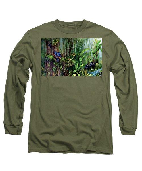 Jungle Talk Long Sleeve T-Shirt