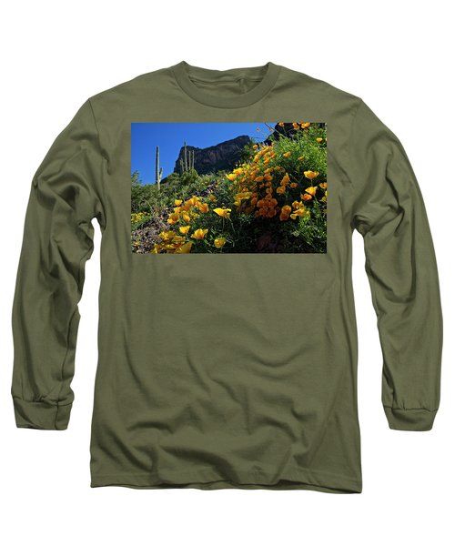 Just A Little Sunshine Long Sleeve T-Shirt by Lucinda Walter