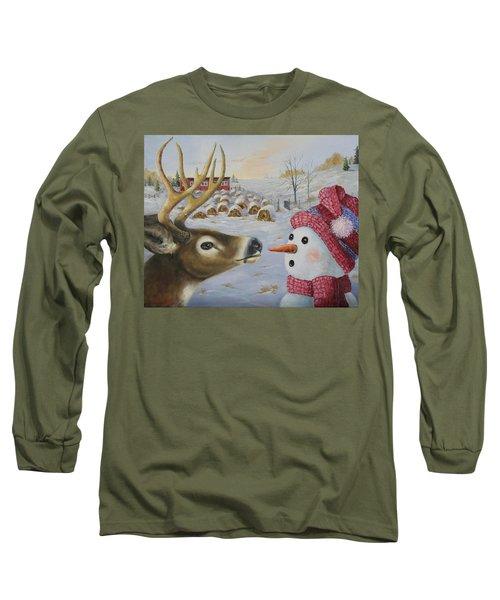 Just A Nibble Long Sleeve T-Shirt