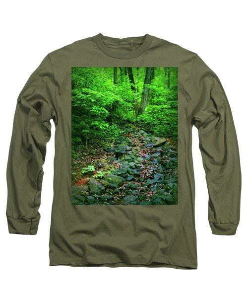 Just Breath Long Sleeve T-Shirt