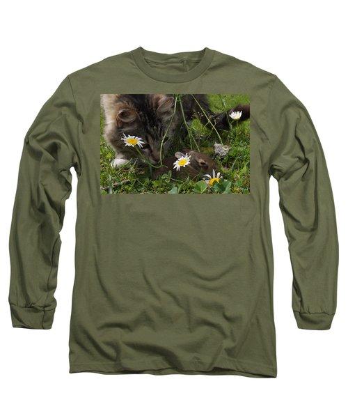 Just Say No Long Sleeve T-Shirt by Bill Stephens
