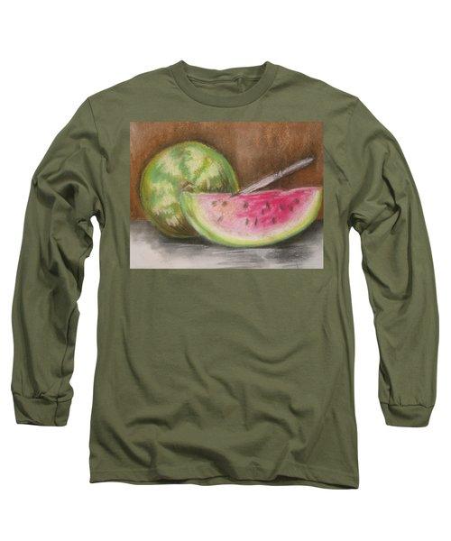 Just Watermelon Long Sleeve T-Shirt