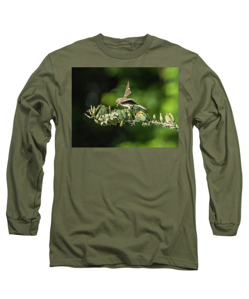 Juvenile Verdin 1870 Long Sleeve T-Shirt by Tam Ryan