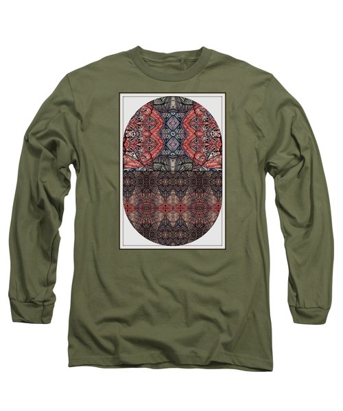 Juxtaposition Image One Long Sleeve T-Shirt by Jack Dillhunt