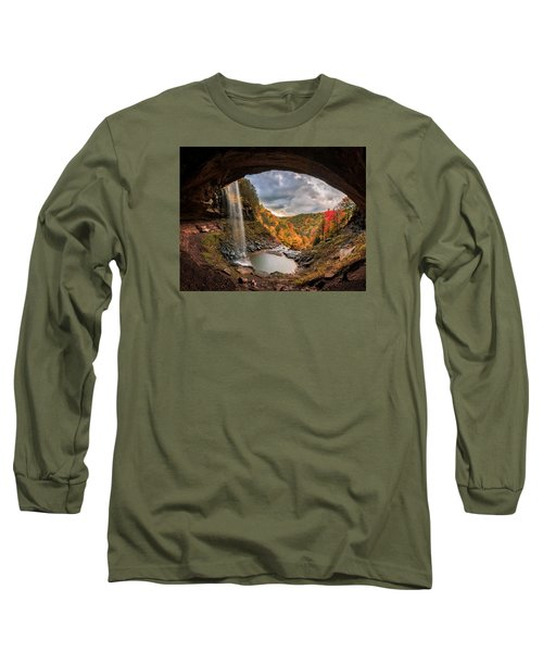 Long Sleeve T-Shirt featuring the photograph Kaaterskill Falls by Anthony Fields