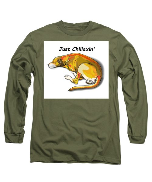 Kai Chillaxin' Long Sleeve T-Shirt