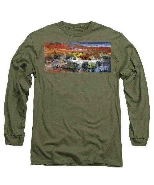 Kaiser Pond Long Sleeve T-Shirt by Lisa Kaiser