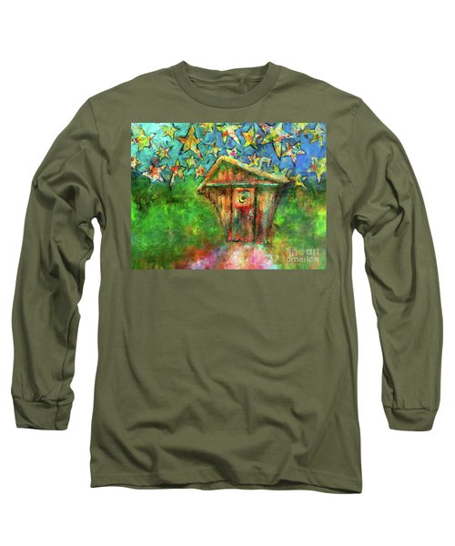 Kaleidoscope Skies Long Sleeve T-Shirt