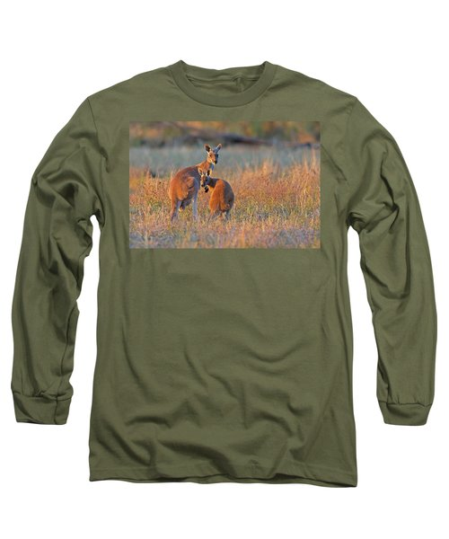 Kangaroos Long Sleeve T-Shirt
